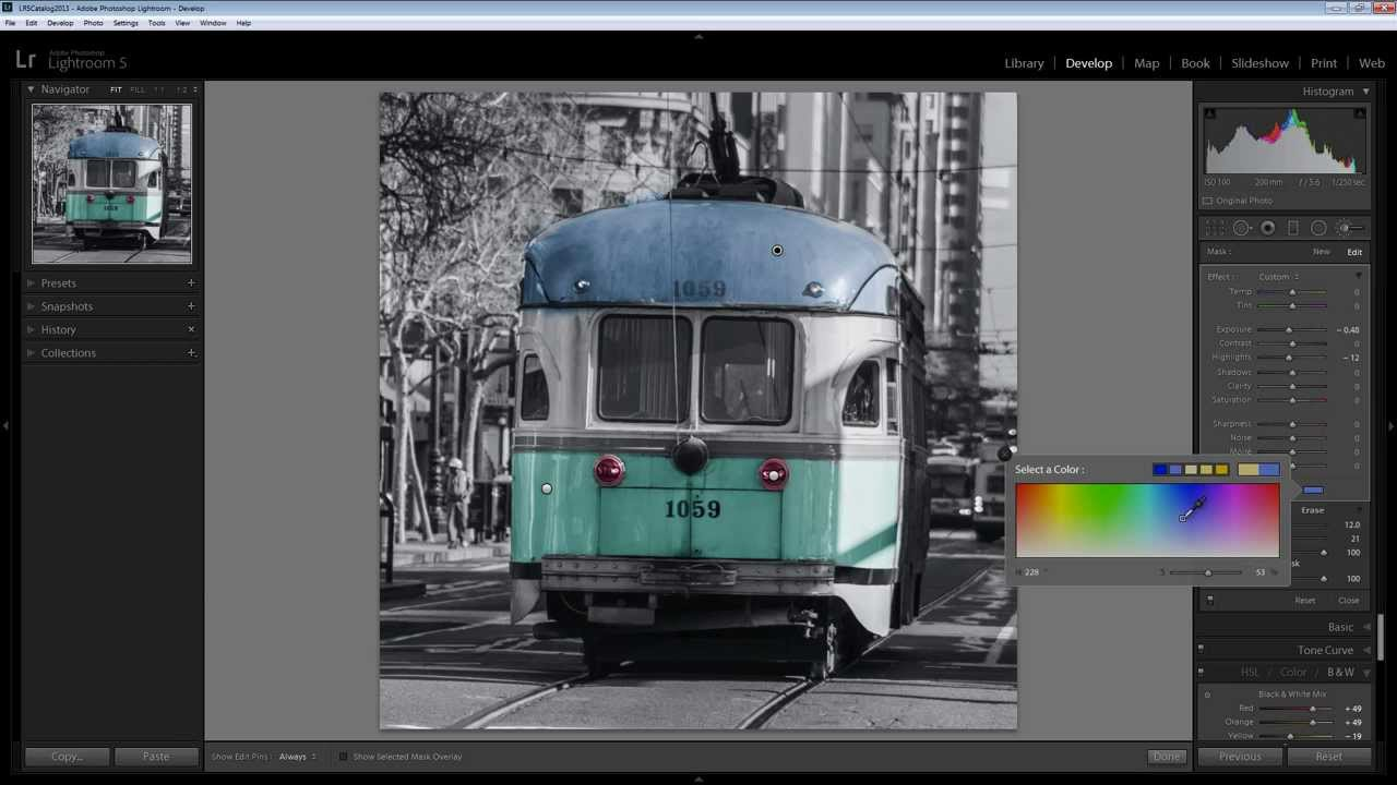 Learn To Hand Tint A Photo In Adobe Photoshop Lightroom