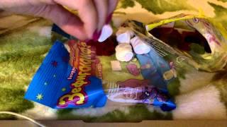 ASMR eating - Marshmallow and jelly / АСМР жевание, чавканье - Маршмалоу (+мармеладки)