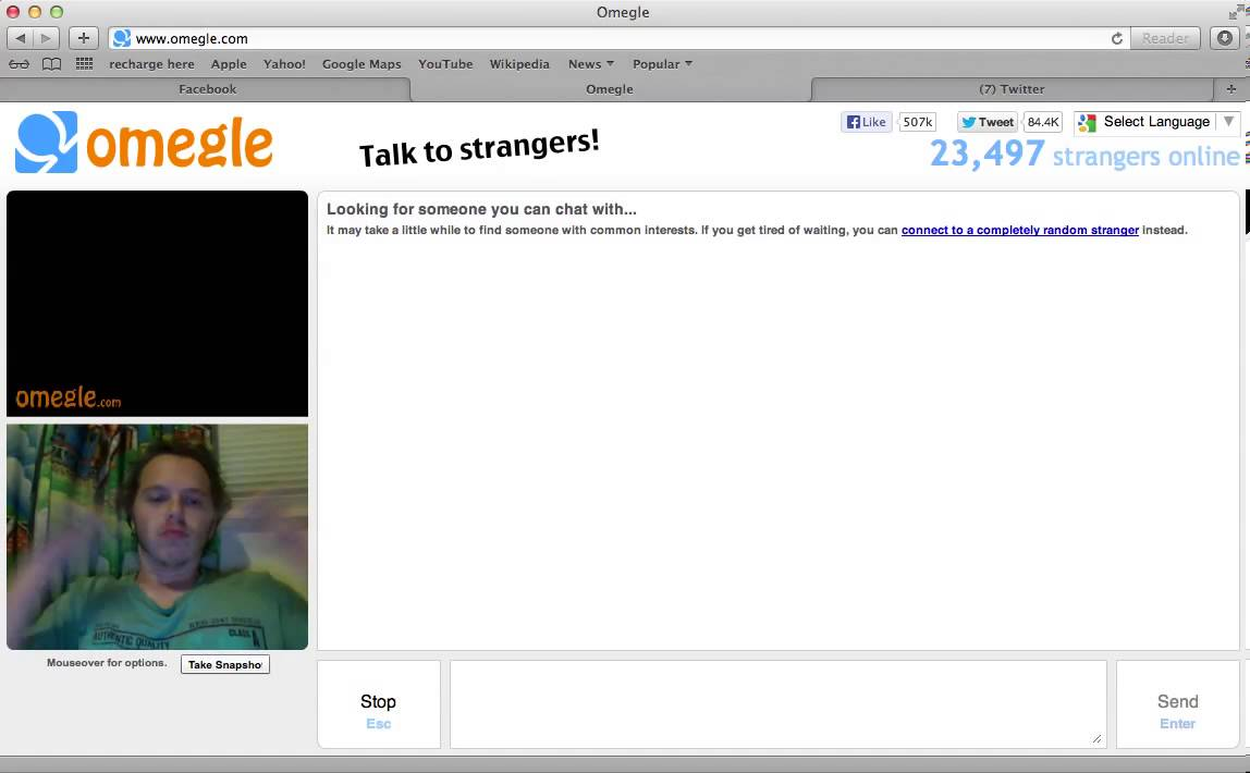 Www omegle com live chat