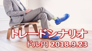 FX:ドル円 2018.9.23】トレードシナリオ解説 thumbnail