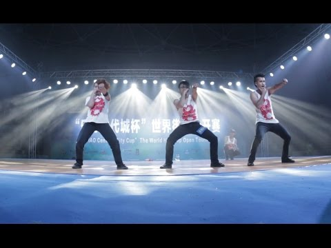 Cartoonz Crew(Nepal) | 2nd Place | World Leisure Games 2015, China | Street dance Competition.