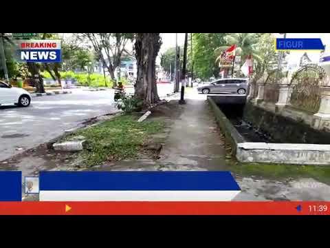 Kurang Perhatiannya Oleh Pemko Padang Mengenai Sampah Berserakan Di Jalan Ujung Gurun Padang