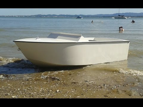 Home Built Plywood Mini Jet Boat