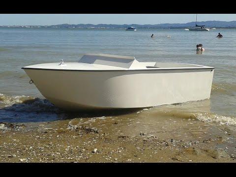 Home Built Plywood Mini Jet Boat
