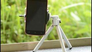Universal car Mobile Phone stand tripod + Clip Holder mount bracket Adapter