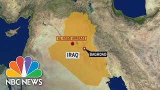 Special Report: Rockets Hit U.S. Air Base In Iraq | NBC News (Live Stream)