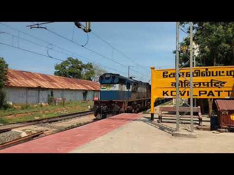 56769_Palghat town passenger warm arrival at Kovilpatti - YouTube