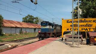 56769_Palghat town passenger warm arrival at Kovilpatti