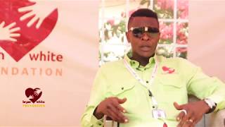Dr Jose Chameleon  advises the youth on Attitude - Bryan white foundation
