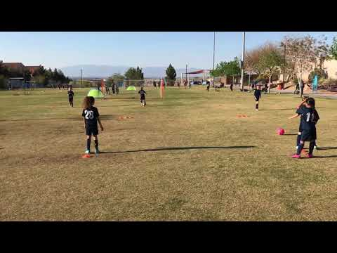 4.4.18 Prime soccer practice with Coach Chris