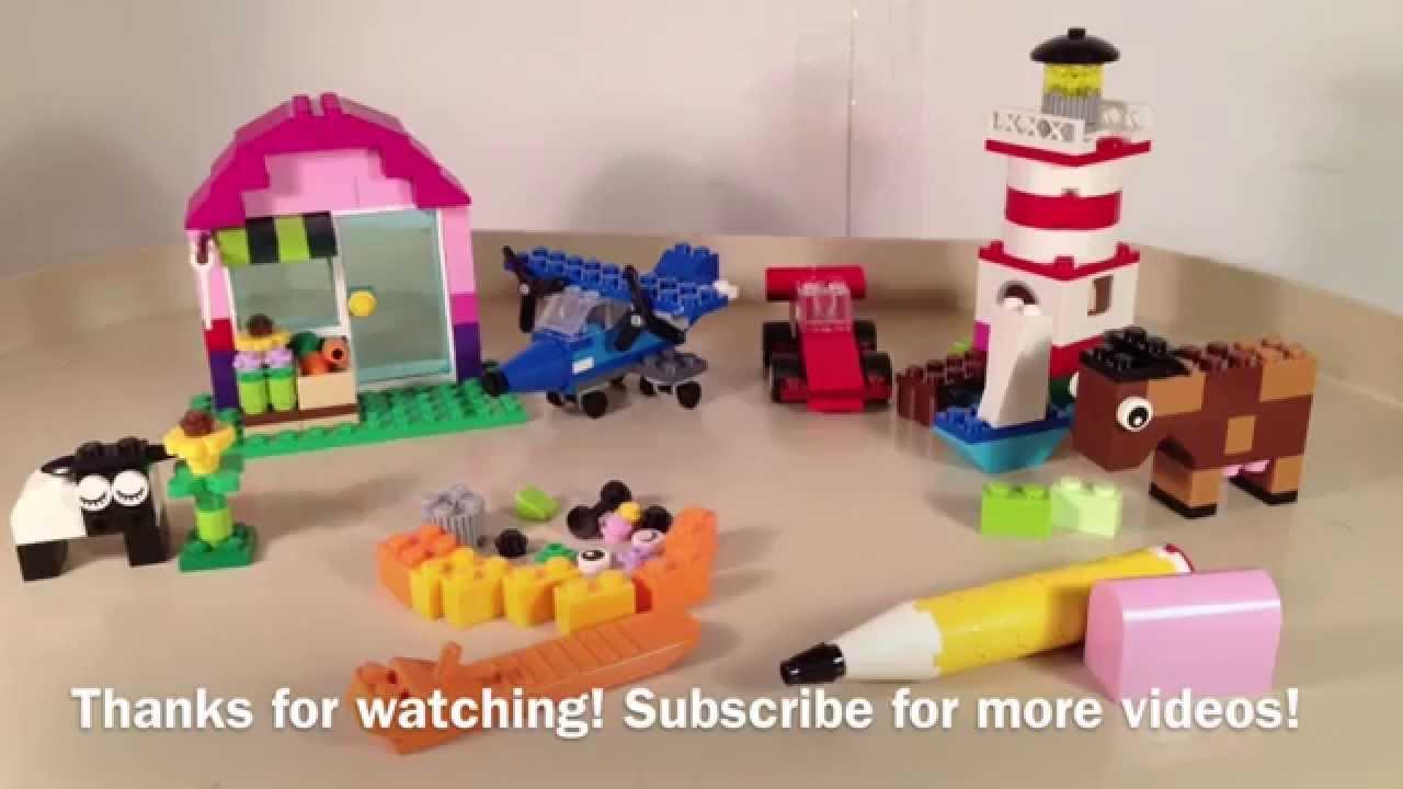 Lego Classic 2016 Unboxing 10702 - Creative Building Set 583 pcs .