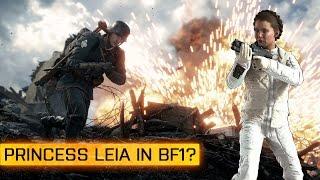 Battlefield Mysteries #1: Prinzessin Leia in Battlefield 1? + Secret Doom Reload Easter Egg?