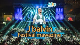 J balvin Live Festival mawazine 2019