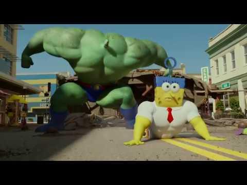 Plankton vs. Burgerobrody - The SpongeBob Movie Sponge Out of Water 2015