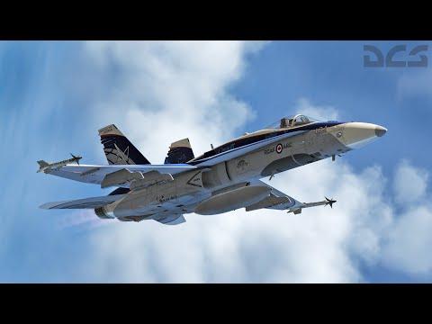 DCS World F/A-18C Hornet Menu Theme