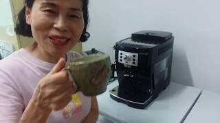 드롱기 전자동 커피머신 사용법과  청소법을 알려 드립니…