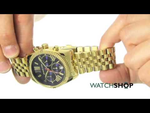 3fd2f896efa7 Michael Kors Ladies  Lexington Chronograph Watch (MK6206) - YouTube