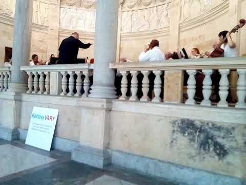 Концерт. Карловы Вары..#Чехия#поездкавкарловывары#лечение#санатории#экскурсии