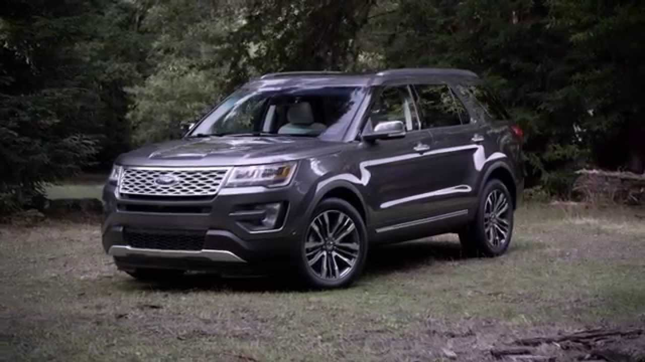 Ford Explorer 2015 Exterior Youtube