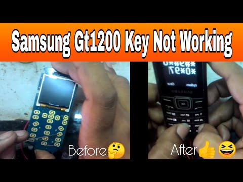 Samsung gt 1200 key pad problems or Samsung gt1200 key not working and way in Hindi 2016