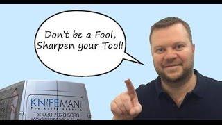 Knifeman Direct Mobile Knife Sharpening London
