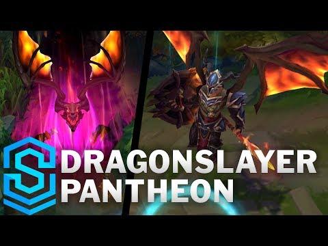 Dragonslayer Pantheon Skin Spotlight - Pre-Release - League of Legends