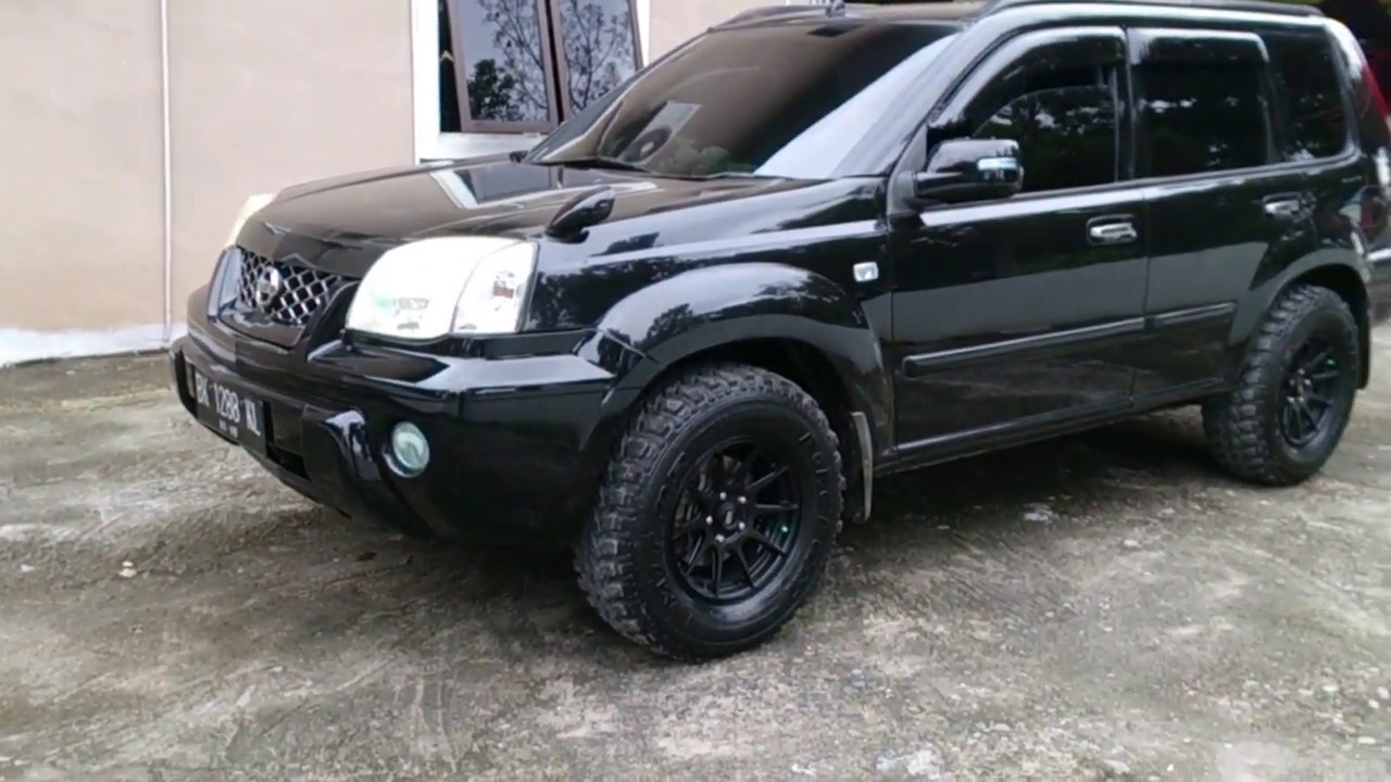 2004 nissan x trail modifikasi simple modification. Black Bedroom Furniture Sets. Home Design Ideas