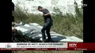 MH17: Investigators continue to recover remains and gather evidence