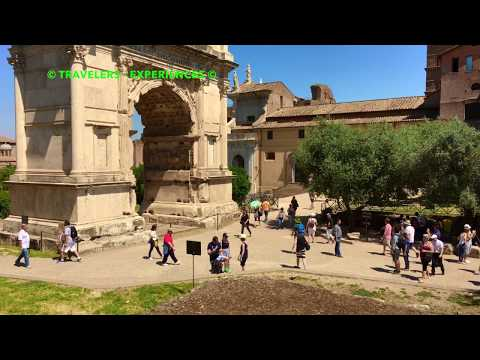 The Roman Forum Rome 4K Travel Guide Must See & Do Video