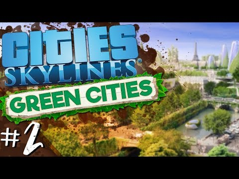 Cities: Skylines - Green Cities #2 - The Epcot Globex Zone