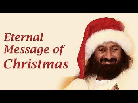 Christmas Message 2014 from Sri Sri R Shankar