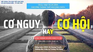 HTTL PHONG ĐIỀN - Chương Trình Thờ Phượng Chúa - 03/10/2021