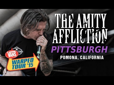 "The Amity Affliction - ""Pittsburgh"" LIVE! Vans Warped Tour 2015"