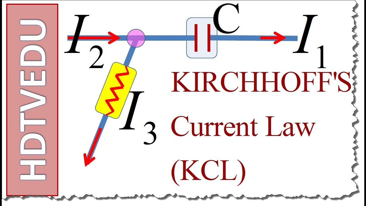 worksheet Kirchhoff Law Worksheet 1904 kirchhoffs current law teach me physics e m by hdtvedu hecanhelp com youtube