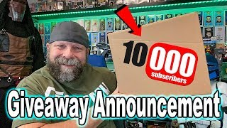 10K Giveaway Announcement