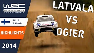 Rally Finland 2014: Highlights / Review / Results with cliff hanger ending - Latvala versus Ogier!
