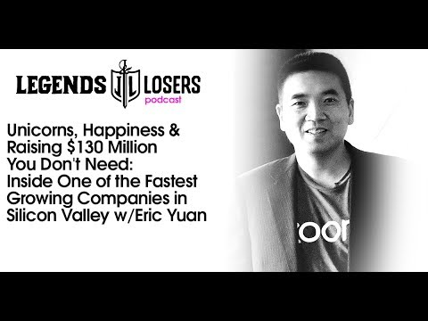 032: Happiness & $130 Million You Don't Need: One of the Fastest Growing Companies w/Eric Yuan
