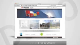 GoodWe WIFI Minitoring Guidance Video