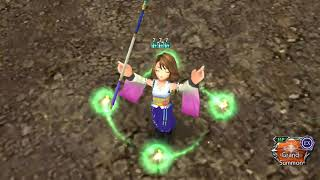 DFFOO [GL] - Yuna, Tidus 1/3, Paine | Fangs of Promise LC: CHAOS | 512,285 Score