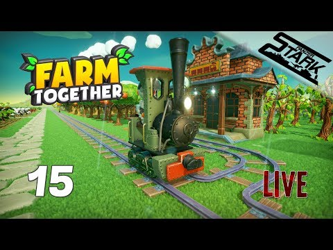 Farm Together - 15.Rész (Kisvasutat Is építünk) - Stark LIVE
