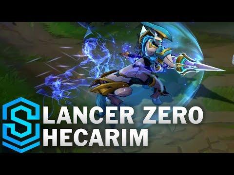Lancer Zero Hecarim Skin Spotlight - League of Legends