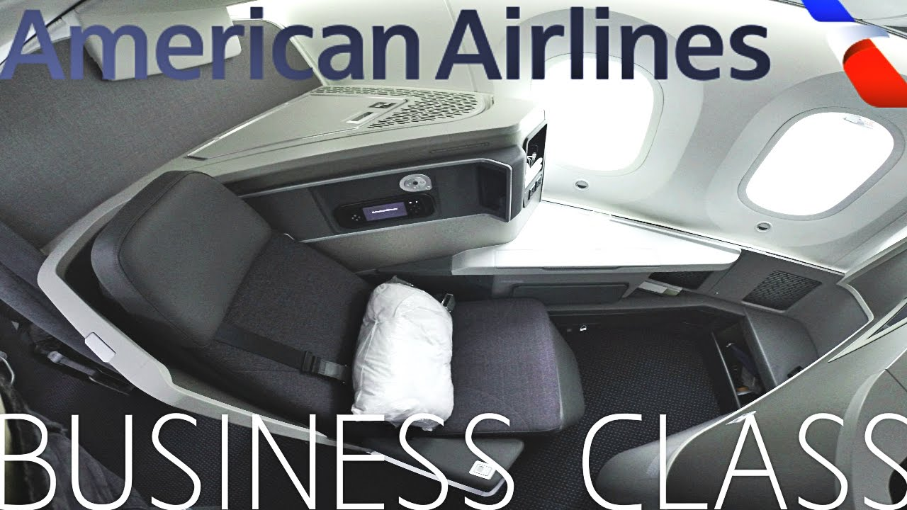 American Airlines Business Class London To Chicago 787