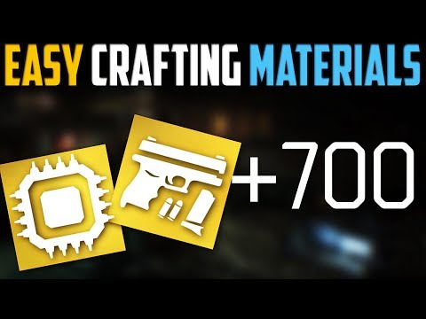 The Division | Easy Crafting Materials Trick | Patch 1.6.1