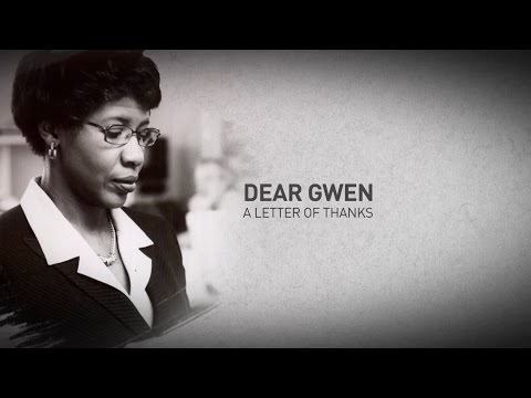 'Dear Gwen': Letters from women journalists of color