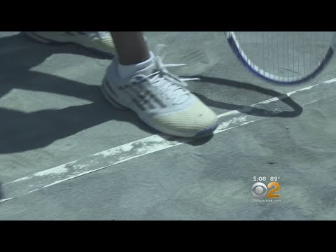Queens Tennis Courts In Disarray