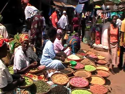 Lilongwe Central Martket, Malawi