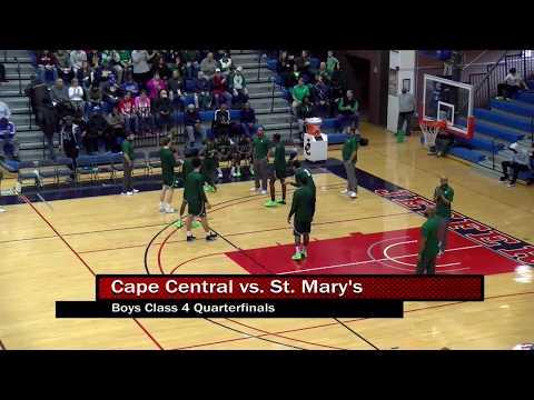 Boys Class 4 Quarterfinals - Cape Central vs. St. Mary's  3-9-19