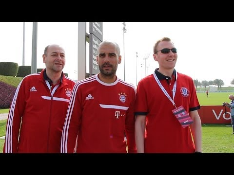 """FC Bayern: Outtakes aus Doha - Guardiola: """"Foto oder Video?"""" - Das Schrägste aus Katar"""