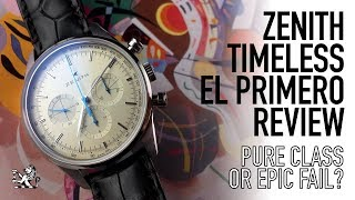 The Most Underrated Iconic Watch Or An Epic Fail? - Zenith El Primero Timeless Chronomaster Review