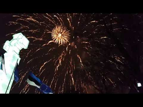 Tallinn - New Years Eve 2018 (fireworks)